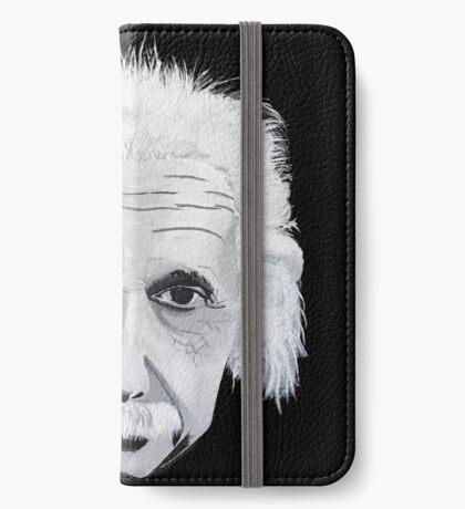 Simply Albert Einstein  iPhone Wallet/Case/Skin