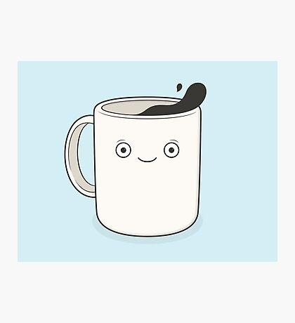 whoa, coffee! Photographic Print