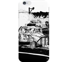 One day at the race track iPhone Case/Skin