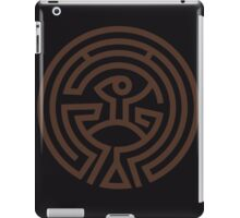 The Maze - Brown iPad Case/Skin