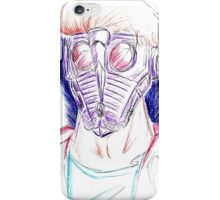 That Sketchy Man Quill iPhone Case/Skin