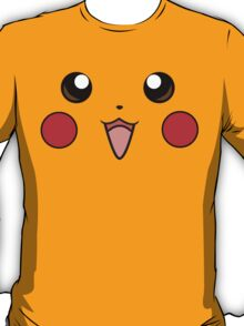 Pokemon - Pikachu Face Yellow T-Shirt