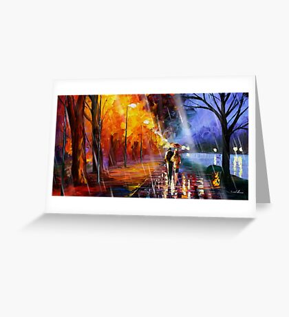 Charmanders Alley Greeting Card