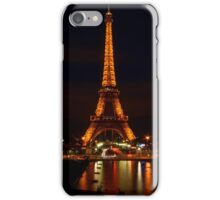 Eiffel Reflections & Light Trails iPhone Case/Skin