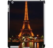 Eiffel Reflections & Light Trails iPad Case/Skin