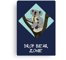 Drop Bears Preservation Society Canvas Print