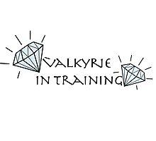 Valkyrie in Training Photographic Print