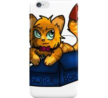 Doctor Mew's Pawlice Box iPhone Case/Skin