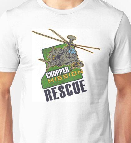 Chopper Mission Rescue Unisex T-Shirt