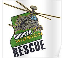 Chopper Mission Rescue Poster
