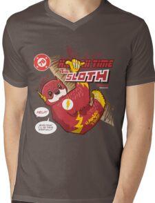 Super Sloth Hawaii Time! Mens V-Neck T-Shirt