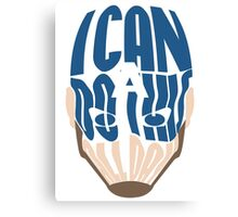 I Can Do This All Day Word Art Canvas Print