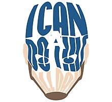 I Can Do This All Day Word Art Photographic Print