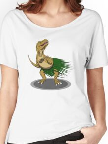 T-Rex Ukulele Women's Relaxed Fit T-Shirt