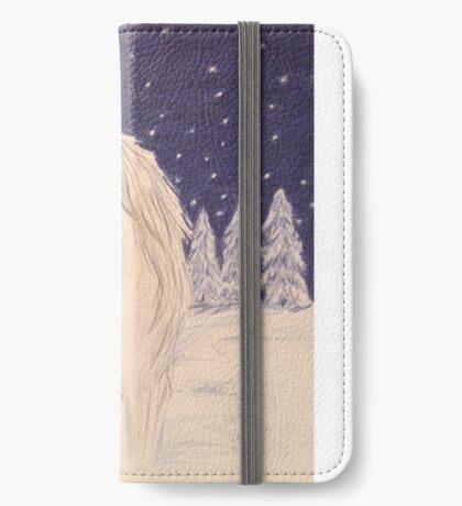 Winter unicorn iPhone Wallet/Case/Skin