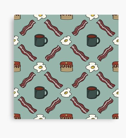 Morning Argyle Canvas Print