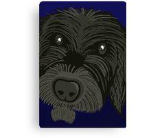 Scruffy Dog Canvas Print