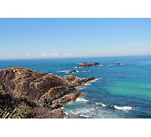 Rocky path- Seal Rocks NSW Photographic Print