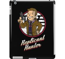 Replicant Hunter iPad Case/Skin