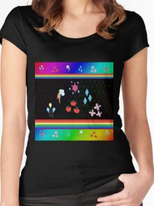 My Little Pony - Elements of Harmony Special Women's Fitted Scoop T-Shirt