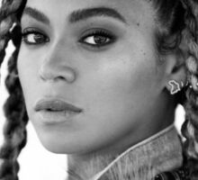 BEY WITH BRAIDS  Sticker