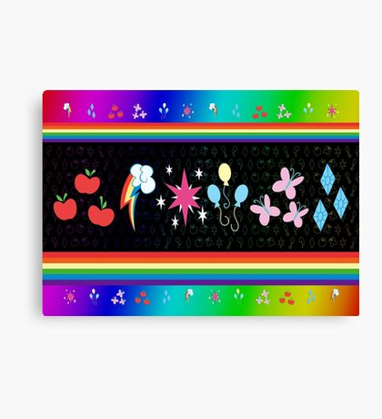 My Little Pony - Elements of Harmony Special Canvas Print