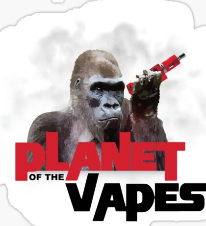 Planet of the Vapes Sticker
