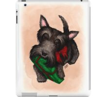 A gift for Scottie iPad Case/Skin