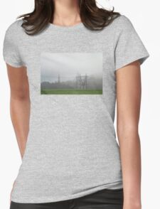 Morning fog Womens Fitted T-Shirt