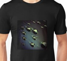 Meteorites asteroids in space surrealist futuristic science fiction scifi artistic square color analog 35mm film photo Unisex T-Shirt