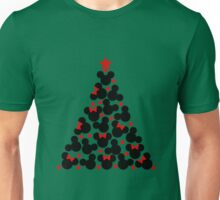 Mouse tree -green- Unisex T-Shirt