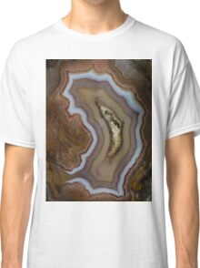 Earth treasures - patterns of agate Classic T-Shirt