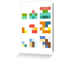 Minimalist Pokemon starters Greeting Card