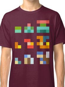Minimalist Pokemon starters Classic T-Shirt