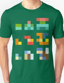 Minimalist Pokemon starters Unisex T-Shirt
