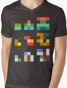 Minimalist Pokemon starters Mens V-Neck T-Shirt