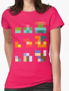 Minimalist Pokemon starters Womens Fitted T-Shirt