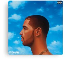 DRAKE Nothing was the same Canvas Print