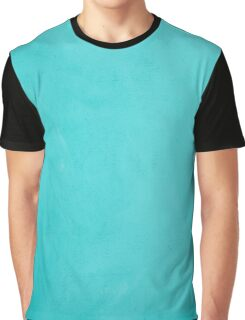 Blue Turquoise Wooden Board Background Texture Graphic T-Shirt
