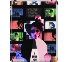 Marla Singer, Fight Club David Fincher iPad Case/Skin