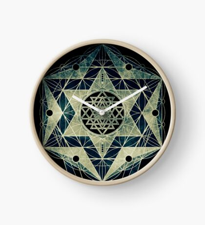 Sacred Geometry for your daily life- SRI YANTRA Clock