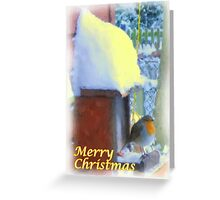 Christmas Painting 03 Greeting Card