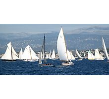 FROM THE SEA TO THE LAND, FROM THE LAND TO THE SEA.CANNES-FRANCIA -EUROPA- All rb Group of Boats and Sailing lovers -  VETRINA RB EXPLORE 16 OTT.2012 Photographic Print