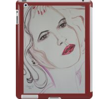 Sweet Thoughts and Dry wine iPad Case/Skin