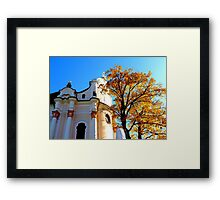 Wieskirche ~ UNESCO World Heritage Site Framed Print