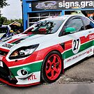 Red and Green Striped Focus RS by Vicki Spindler (VHS Photography)