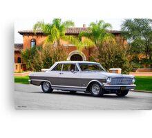 1965 Chevrolet Nova SS Hardtop Canvas Print