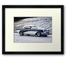 1955 Buick Century Hardtop Framed Print