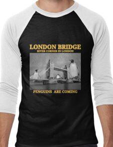Penguins Apocalypse Men's Baseball ¾ T-Shirt