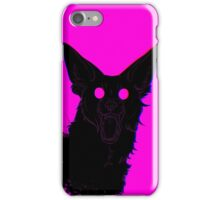 The Dog Bites Back Textless iPhone Case/Skin